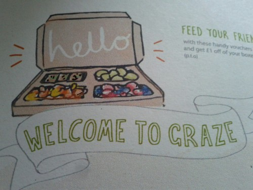 Cute illustrations with my free graze box :)