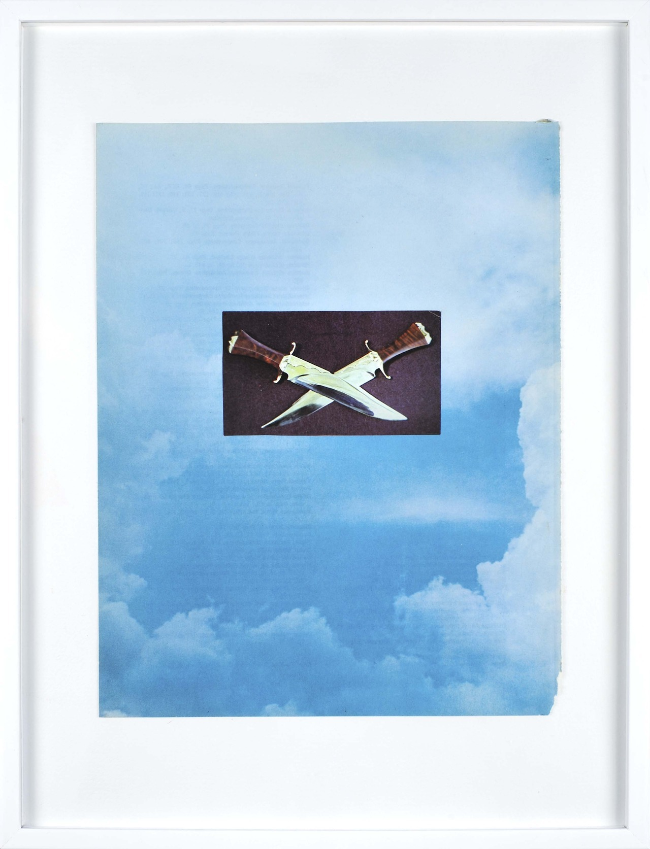 A Sedated Summer Apogee series (collage on paper), 2012