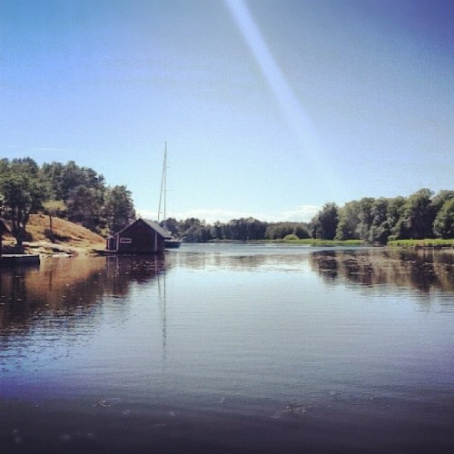 #Åland #tranquility #finland #scandinavia (Taken with Instagram at Gästgård Christiansund)