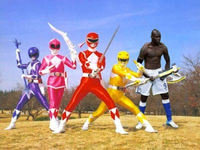 Supermario se une a los Power Rangers