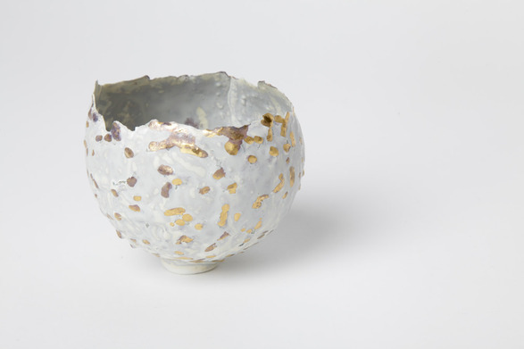 Solid and Lattice Bowls by Susanne Harder. Buy them here.  The speckled bowl is gorgeous!