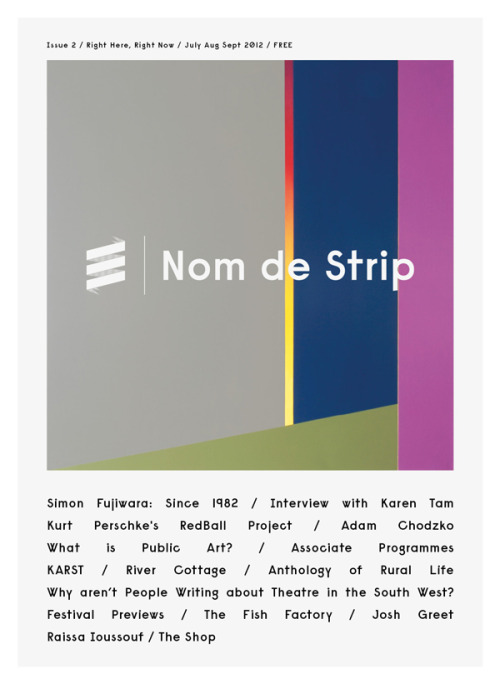 nom-de-strip:  Issue 2 OUT NOW