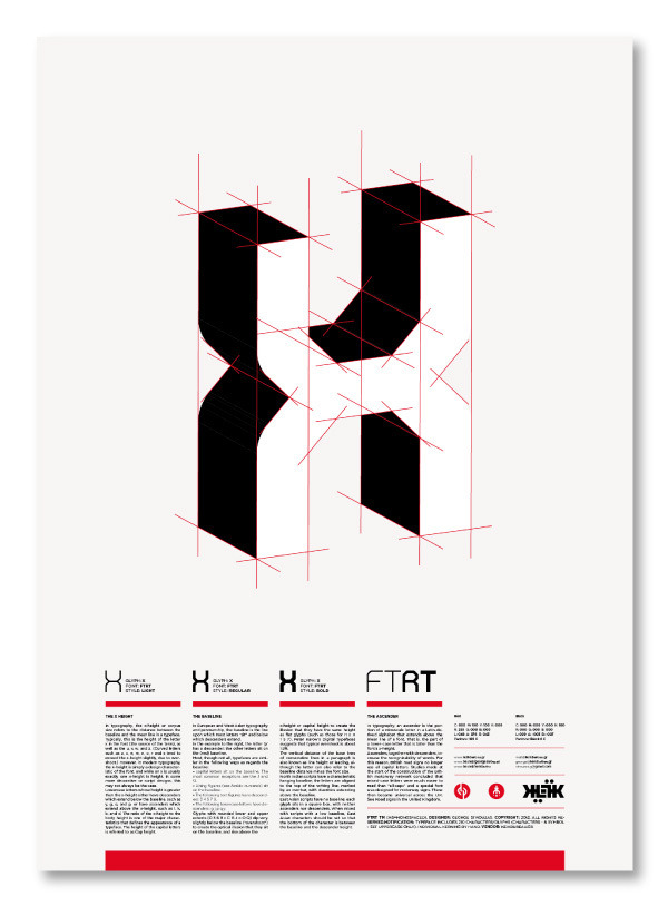 superbruut:  FTRT typeface - SuperBruut / Facebook / Twitter