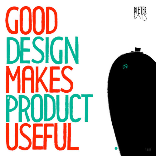 yet another subtle quote from dieter rams thoughts. handmade font for the next design with a view installation, in collaboration and thanks to studio kmzero