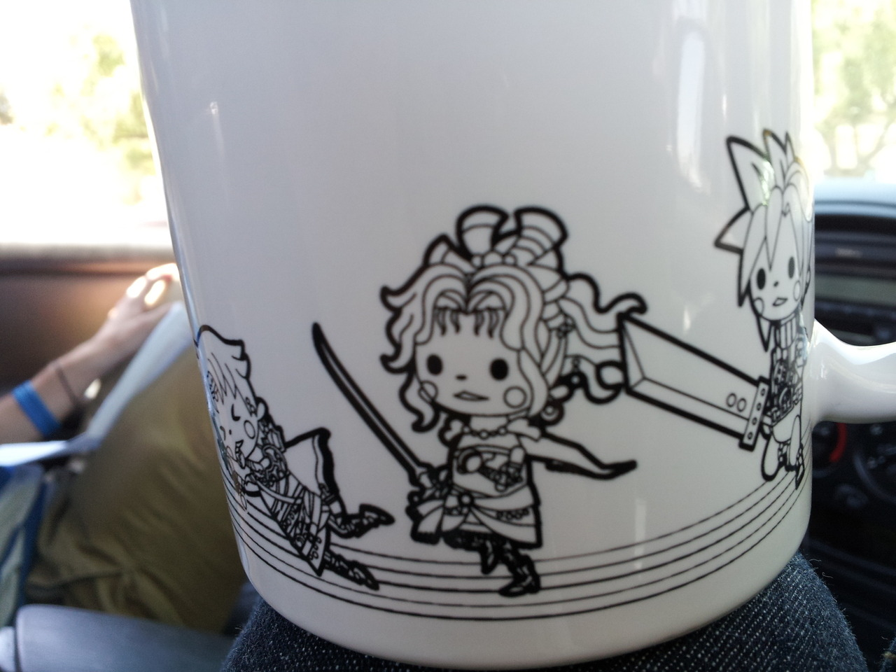 Theatrhythm: Final Fantasy releases today, and while I'm sure many of you have already got your preordered copies on the way, what about your Theatrhythm coffee mug? If you act quick, you can get one cheap at Amazon for $14.99. Various import shops also have them in stock. And for those wondering about our thoughts on it — the game, not the mug, which I'm sure is wonderful at delivering drinks to your mouth — our own JC Fletcher played through Theatrhythm and posted his review here. Buy: Theatrhythm Final Fantasy (free stylus!) Find: Nintendo DS/3DS release dates, discounts, & more See also: More Theatrhythm Final Fantasy news, media[Image via Meggykei]