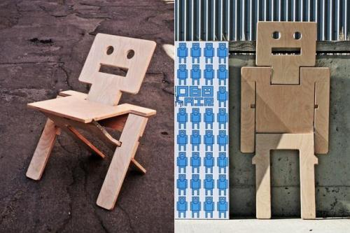 RoboChair designed by Brad Benke of Stahl Architects via