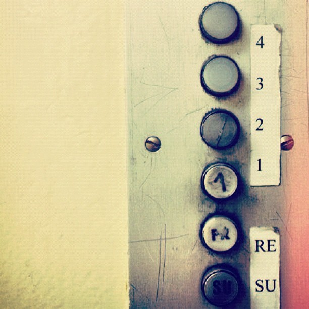(Taken with Instagram at Communist Elevator Blues)