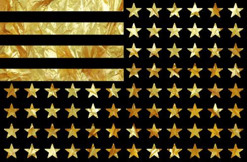 swag dope stars flag gold stripes yungboyfresh •