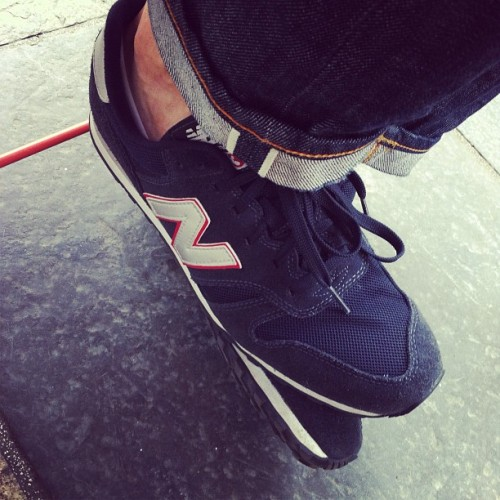 grouchos-tash:  #newbalance #nudie #selvedge #rawdenim #menswear (Taken with Instagram)