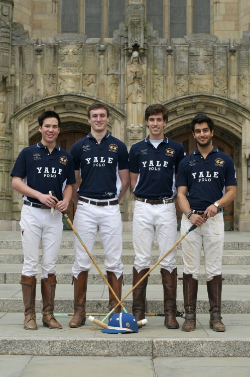 menoftheivyleague:  Yale Polo