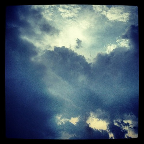 This Mornings Sky #clouds #sky (Taken with Instagram)