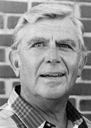 shortformblog:  breakingnews:  BREAKING: Actor Andy Griffith has died, friend says Andy Griffith died this morning in Dare County, North Carolina, according to former UNC President Bill Friday. Friday, a close friend of the actor, confirmed the news to WITN News. (Photo: AP file, via msnbc.com)  Insanely sad to hear this; Andy was an icon. He made television worth watching for many.