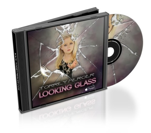 Coming Soon… HARD COPIES of LOOKING GLASS, available via torreymercer.com!