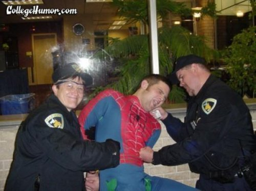 "22 Pictures of People Who Should Not be Dressed as Spider-Man Tomorrow ""The Amazing Spider-Man"" will hit theaters and people will finally be able to answer the question no one was asking: Is Spider-Man better played by Tobey Maguire or Andrew Garfield? Whoever emerges the superior spider, either of them would be better than these 24 would-be Spider-Men who are too fat, skinny, sad, depraved, or out of place to wear the suit well."