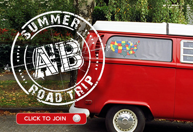 Our Summer Road Trip site is now online at AaronBrothersEvents.com It's your place for discounts, prizes, events and contests all summer long.