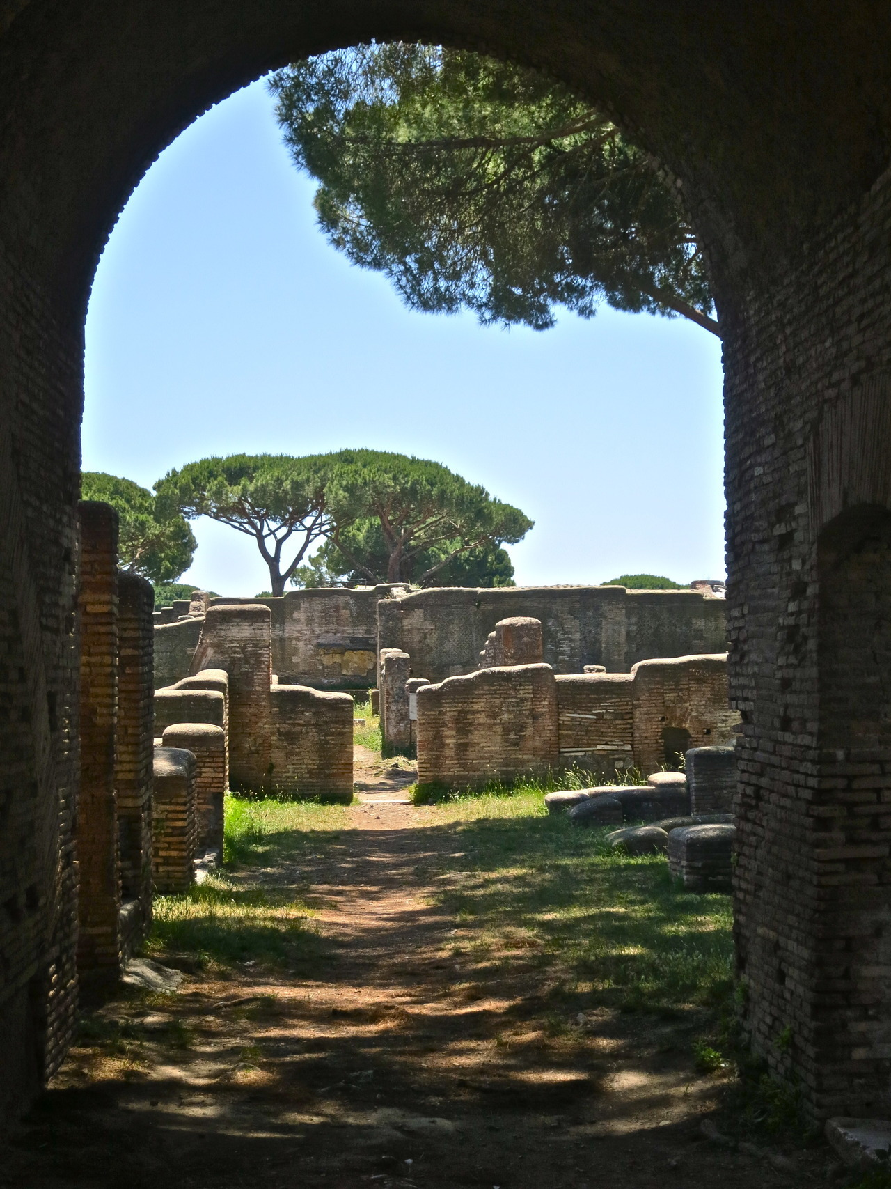 Ostia Antica, photo by me.