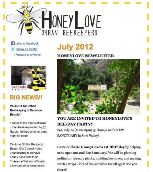 Click here to view HoneyLove's July Newsletter!