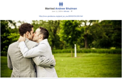 Do you 'Like' these new Facebook timeline icons for married same-sex couples?