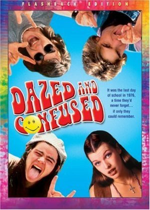 "Dazed and Confused (1993)  In a small Texas enclave, highlights the rites of passage on the last day of school in 1976 for the new, incoming freshmen at the hands of the class of '77 at Robert E. Lee High School. Freshman boys are physically punished, while the girls largely face the brunt of verbal abuse and humiliation. Two main figures emerge. Incoming freshman Mitch Kramer comes to a new realization in his role as a major target of senior hazing. And, among the seniors is Randall ""Pink"" Floyd, the school's star quarterback, who moves with facile grace among groups of greasers, nerds, stoners, and athletes alike.  Cast: Jason London, Joey Lauren Adams, Milla Jovovich, Shawn Andrews, Rory Cochrane, Adam Goldberg, Anthony Rapp Follow this blog for the neverending list of all the teen movies ever made!"