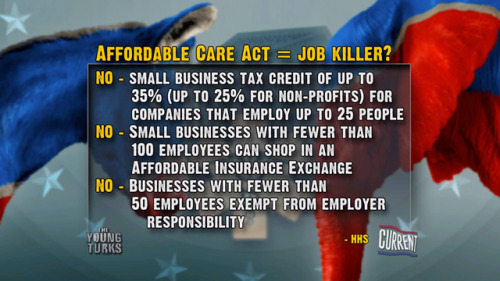 Is the Affordable Healthcare Act a Job Killer?