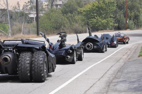 (via Comic-Con 2012 - WB To Display All Six Batmobiles for the First Time - News - GeekTyrant)