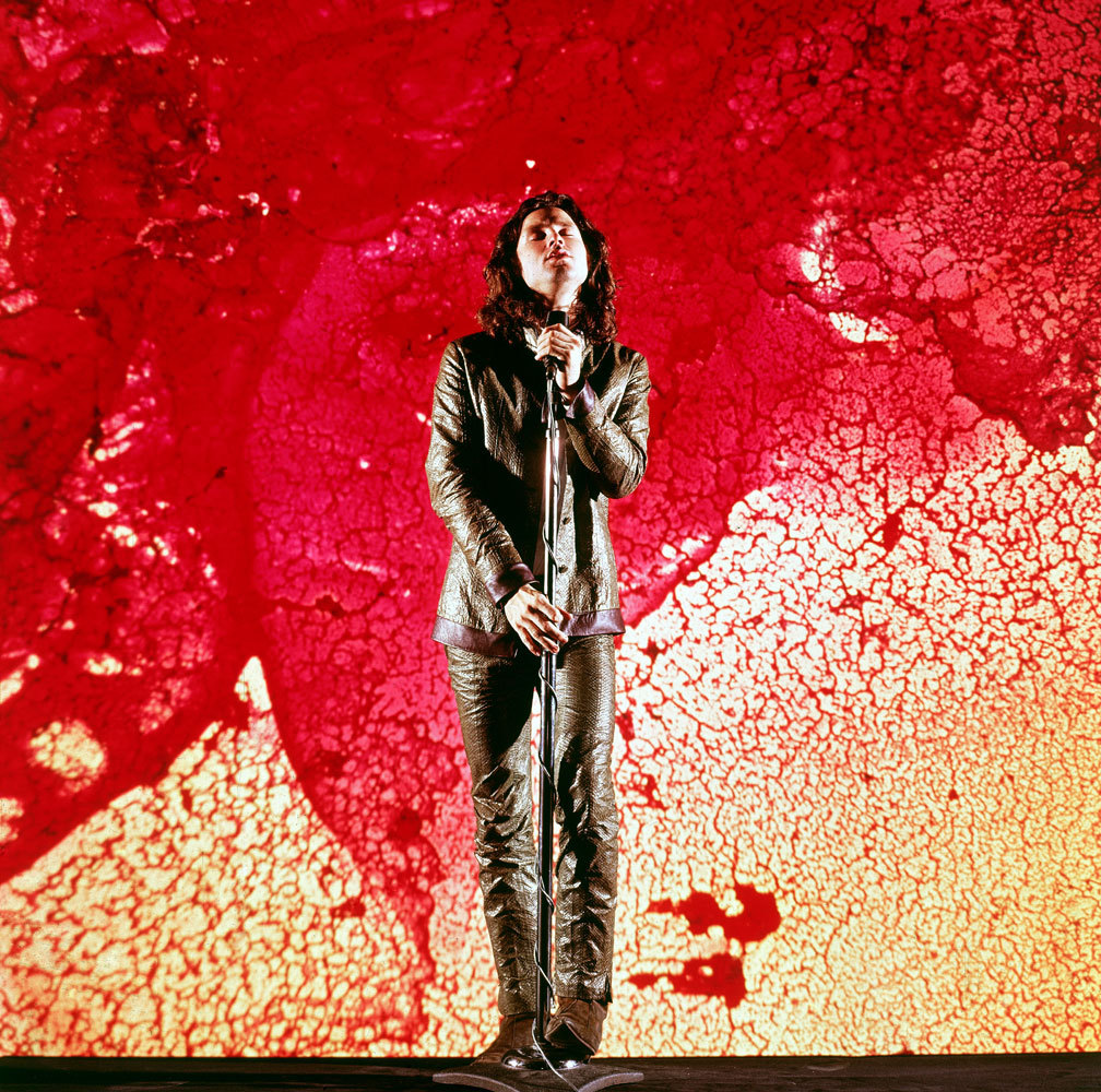 life:  Today marks 41 years since the death of Jim Morrison.Remember his legacy by turning on your favorite Doors album and looking through these vivid color portraits of the 24-year-old rocker for a 1968 LIFE shoot.