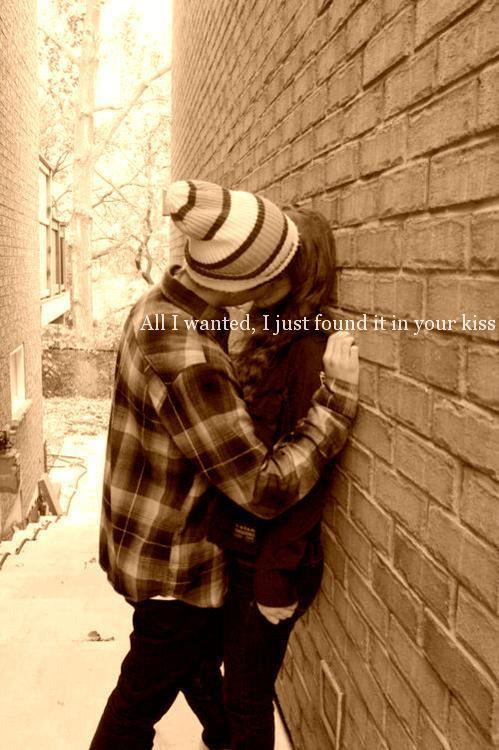 lovequotespics:  All I wanted, I just found it in your kiss. Found on: weheartit.com