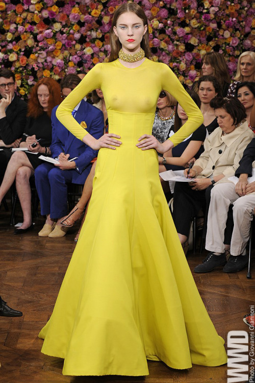 womensweardaily:  Christian Dior Fall Couture 2012