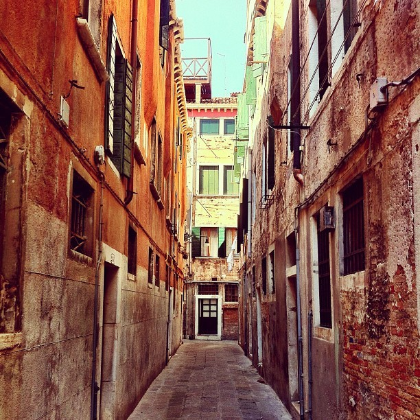 my block. (for the next two nights) #venezia (Taken with Instagram)