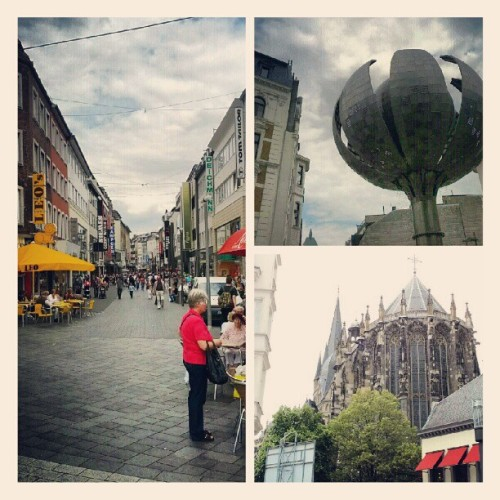 Tonight we play Aachen, Germany!  (Taken with Instagram)