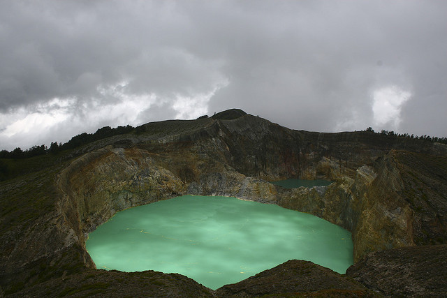 Kelimutu surreal lake by Scalino / On The Road Again on Flickr.