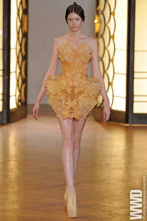 womensweardaily:  Iris van Herpen Fall Couture 2012
