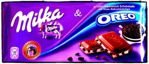 Where have you been all my life?? Milka and oreo - the ultimate combination of yumminess. SO GOOD!