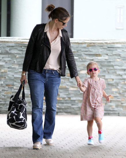 If this is Seraphina Affleck's attempt at sassy street style, it's hilarious.