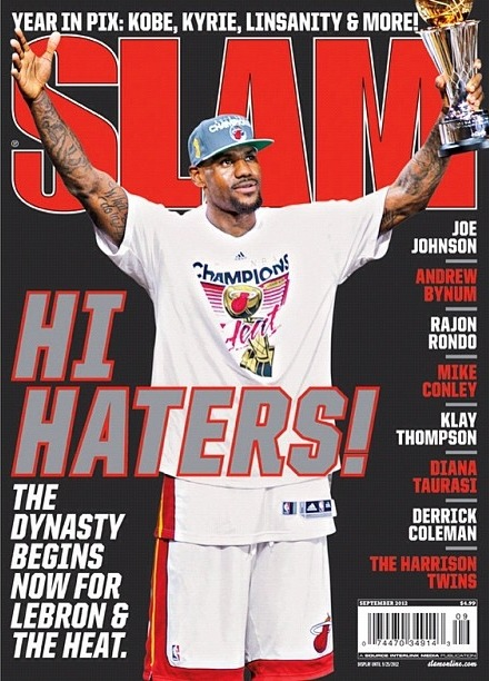 """Callin' All The Haters"" (via @SLAMonline)"