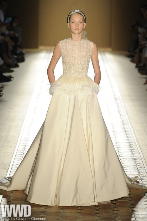 womensweardaily:  Christophe Josse Fall Couture 2012