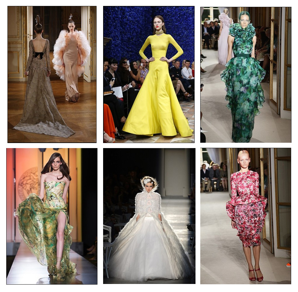Paris Couture Fashion Week is in full swing and in true couture fashion, the runways were filled with plenty of elaborate, avant garde creations from couture's seasoned regulars and established ready-to-wear designers. We've selected some of our favorite looks so far. What do you think?