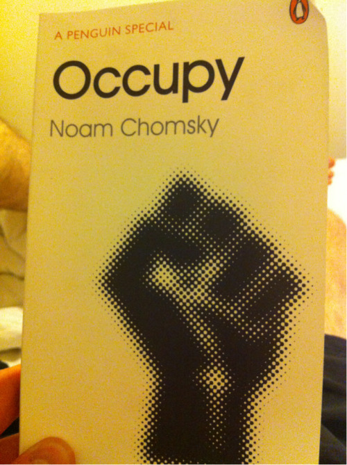 Occupy Noam Chomsky