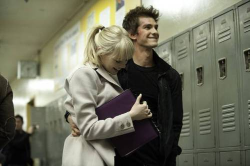 (via The Amazing Spider-Man, due nuove foto con Andrew Garfield e Emma Stone | Il blog di ScreenWeek.it)