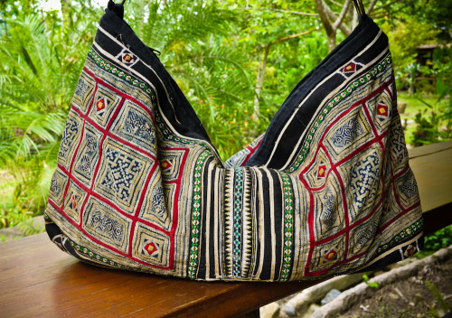 Mekong River Hobo Bag. http://www.etsy.com/listing/103525662/mekong-river-hobo-bag