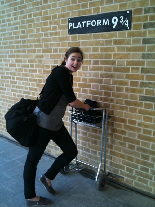 Seriously guys, I went to Hogwarts.