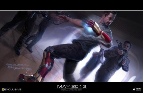 Fucking. SQUEE.  Check out the first concept art image from Iron Man 3 by Ryan Meinerding! Tony Stark IS Iron Man!