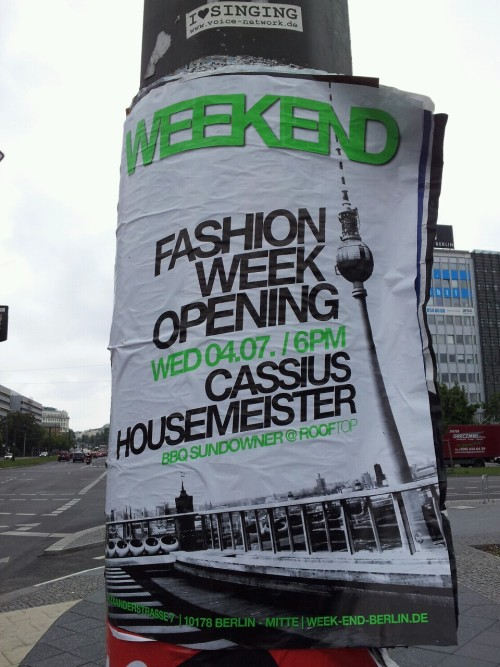 in berlin for fashion week…