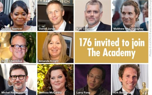 176 have been invited to join The Academy of Motion Picture Arts and Sciences and we were happy to surprise one of them with the news… Read more: http://bit.ly/176invited #oscars