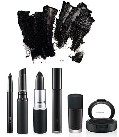 createthislookforless:  MAC Kohl Eyeliner Finishing Mist Prep and Prime Skin Base False Lashes Mascara