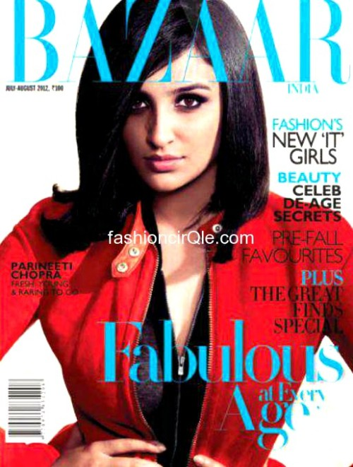Parineeti Chopra_Harper's Bazaar July'12