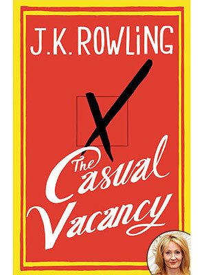 thinkbrit:  teachingliteracy:  J.K. Rowling's The Casual Vacancy Book Cover.  On the one hand, I'm incredibly excited. On the other hand, I'm extremely wary.