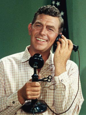 The Andy Griffith Show ~ The phone