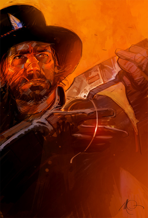 Red Dead Redemption by Massimo Carnevale