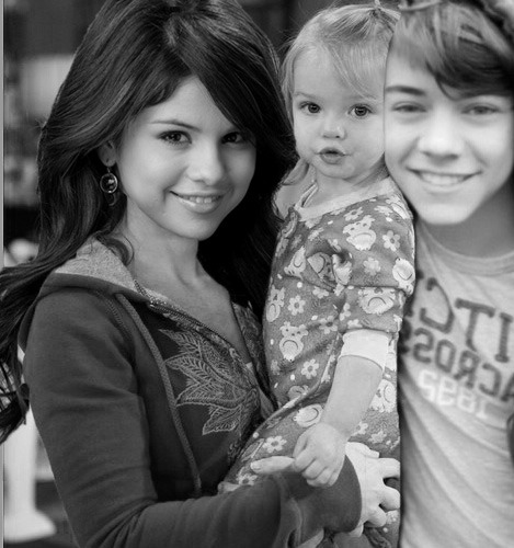 Requested by: missxmiranda  Selena Gomez, Mia Talerico and Harry Styles.